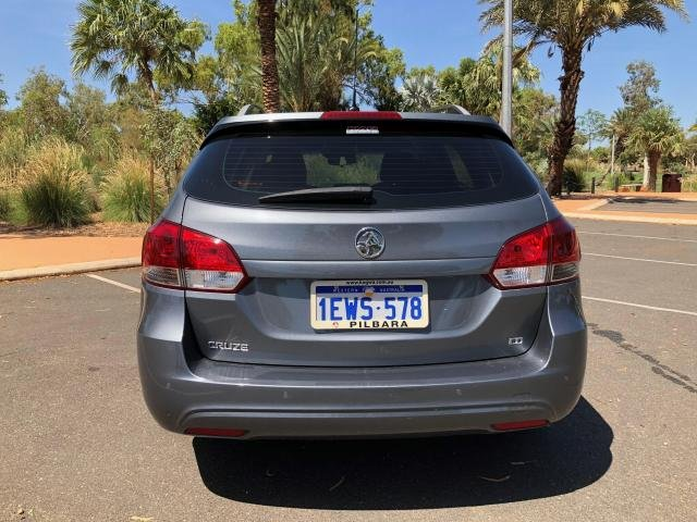 2015 HOLDEN CRUZE CD JH MY14 Grey