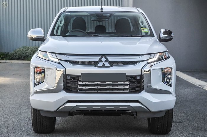 2019 Mitsubishi Triton GLS MR MY19 4X4 Dual Range White Diamond