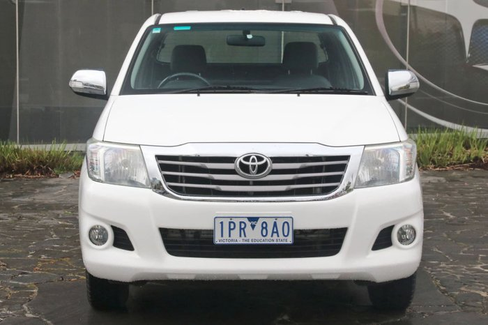 2012 Toyota Hilux SR5 GGN15R MY12 White