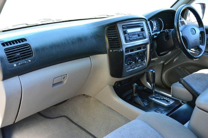 2004 Toyota Landcruiser GXL UZJ100R 4X4 Constant SILVER