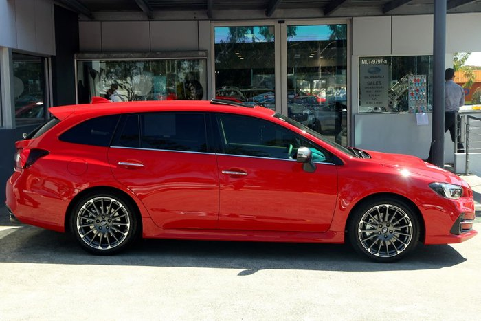 2019 Subaru Levorg 2.0 STI Sport V1 MY19 Four Wheel Drive Red