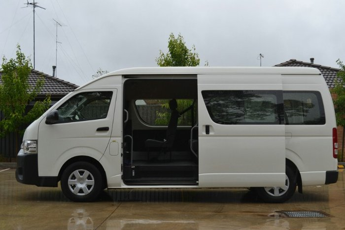 2015 TOYOTA HIACE COMMUTER HIGH ROOF S KDH223R MY14 FRENCH VANILLA