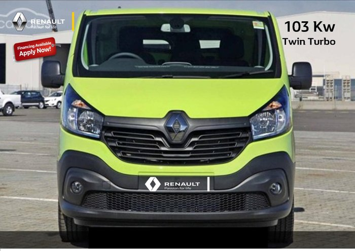 2019 Renault Trafic 103KW X82 Green