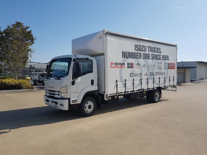 2019 Isuzu FRR 110-240 TC-AMT LWB Curtainsider -
