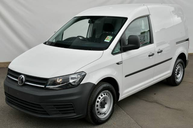 2015 Volkswagen Caddy TDI250 2KN MY15 CANDY WHITE