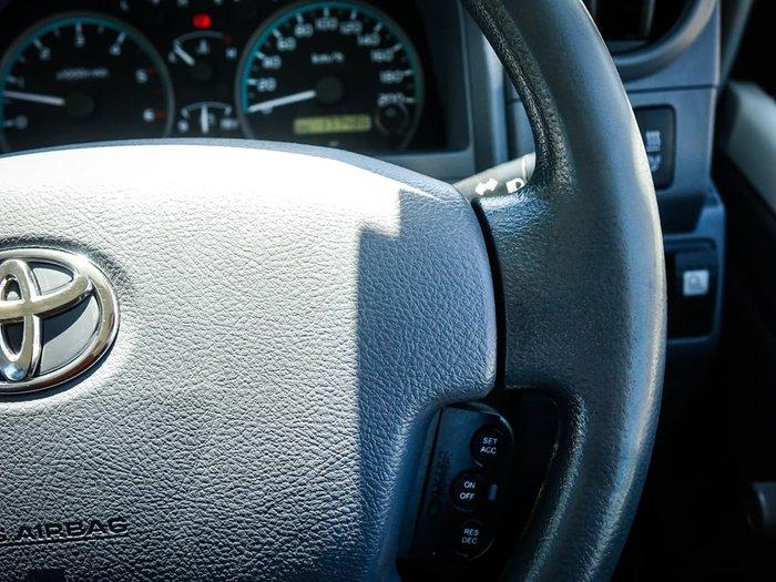 2012 Toyota Landcruiser Workmate VDJ76R 4X4 Dual Range White
