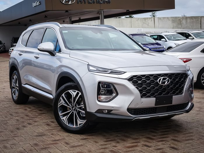 2019 Hyundai Santa Fe Highlander TM.2 MY20 4X4 On Demand Silver