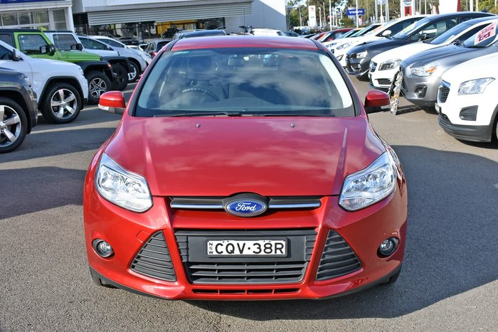 2013 Ford Focus Trend LW MKII Red