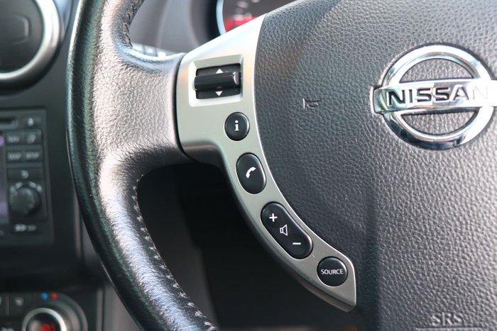 2013 Nissan Dualis +2 Ti J10 Series 3 MY12 Silver