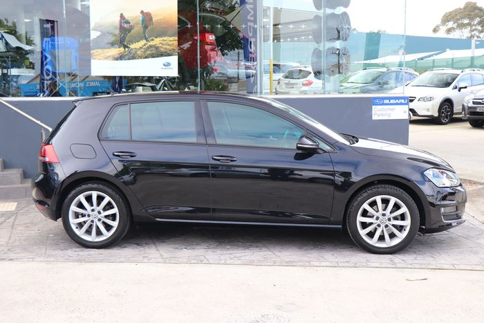 2016 Volkswagen Golf 110TSI Highline 7 MY17 Black