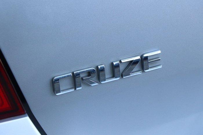 2012 Holden Cruze SRi-V JH Series II MY12 Silver
