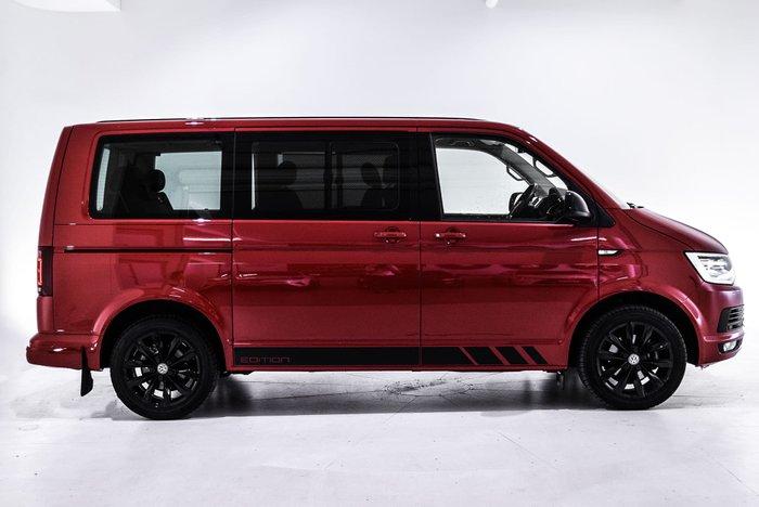 2019 Volkswagen Multivan TDI340 Black Edition T6 MY19 Red