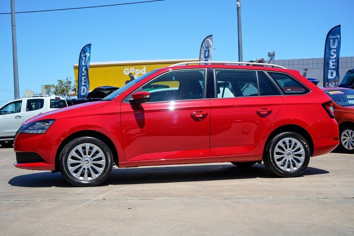 2018 SKODA Fabia 81TSI NJ MY19 Corrida Red