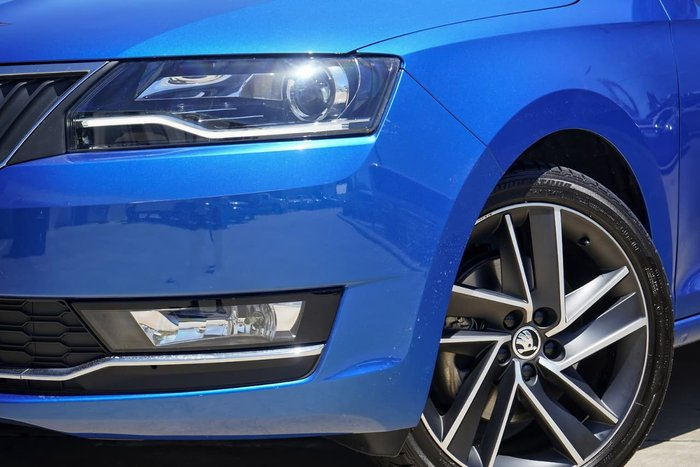 2018 SKODA Rapid NH MY19 Race Blue Metallic