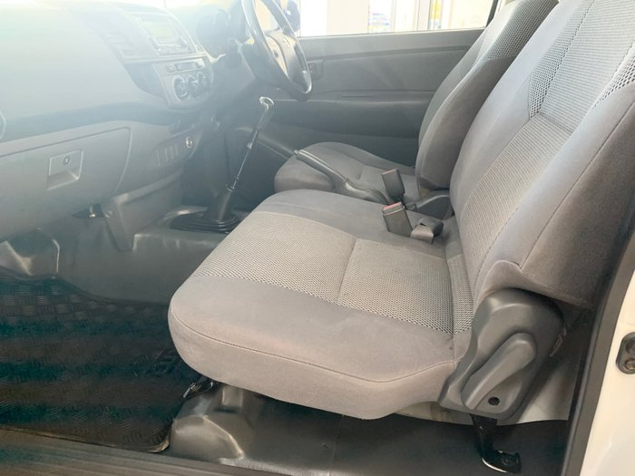 2013 Toyota Hilux SR KUN16R MY12 White