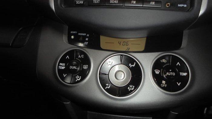 2008 Toyota RAV4 SX6 GSA33R MY08 4X4 On Demand Black