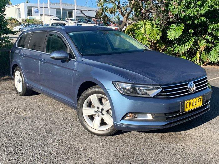 2016 Volkswagen Passat 132TSI B8 MY16 Blue