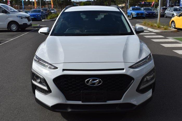2018 Hyundai Kona Go OS.2 MY19 White