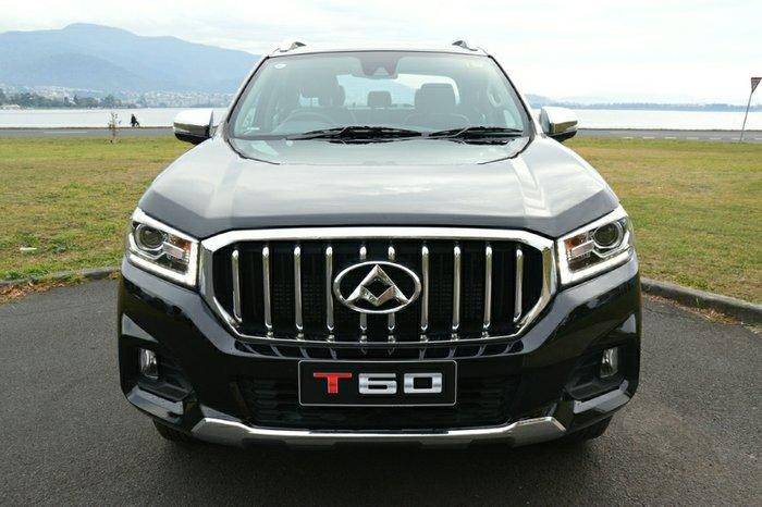 2019 LDV T60 LUXE SK8C 4X4 Dual Range BLACK