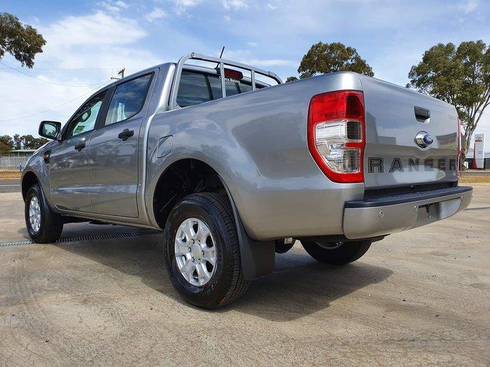 2019 Ford Ranger XLS PX MkIII MY19.75 4X4 Dual Range Silver