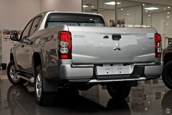 2019 Mitsubishi Triton GLX+ MR MY19 4X4 Dual Range Silver
