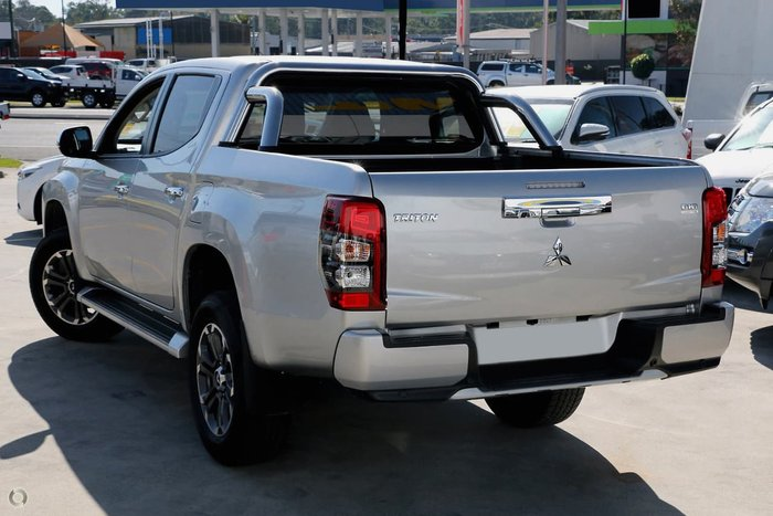 2019 Mitsubishi Triton GLS Premium MR MY19 4X4 Dual Range Silver