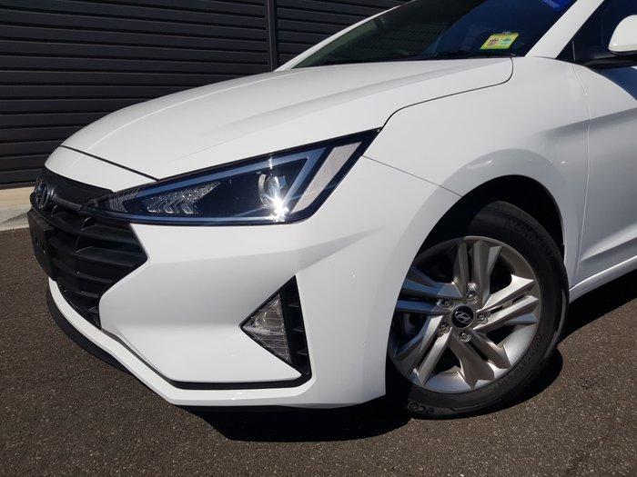 2018 Hyundai Elantra Active AD.2 MY19 White