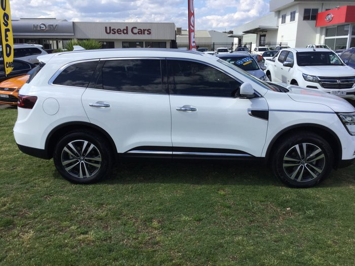 2017 Renault Koleos Intens HZG Four Wheel Drive White