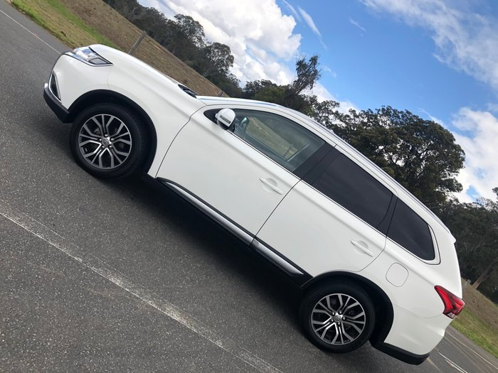 2015 Mitsubishi Outlander XLS ZK MY16 4X4 On Demand White