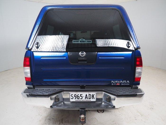 2004 Nissan Navara ST-R D22 MY03 4X4 Blue