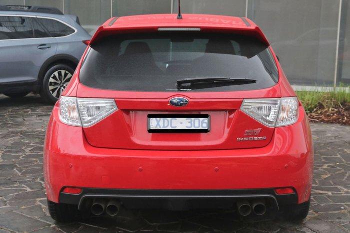 2008 Subaru Impreza WRX STI G3 MY09 Four Wheel Drive Red