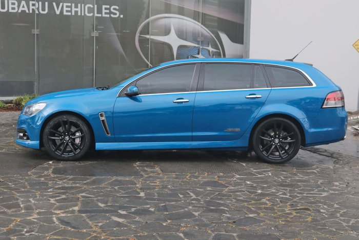 2014 Holden Commodore SS V Redline VF MY14 Blue