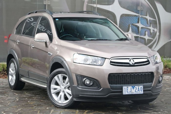 2015 Holden Captiva 7 LT CG MY15 4X4 On Demand Bronze