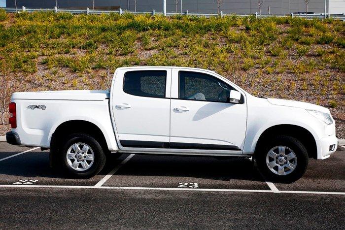 2016 Holden Colorado LT RG MY16 White