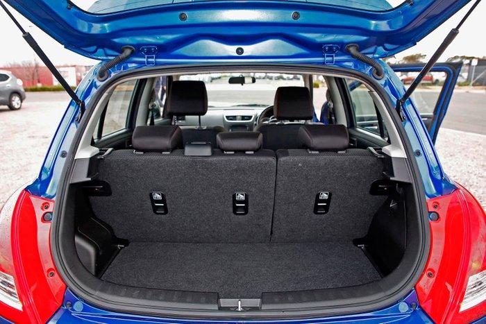 2015 Suzuki Swift Sport FZ MY15 Blue