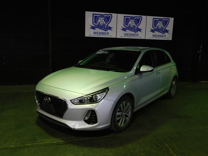 2017 Hyundai i30 Active PD MY18 Silver