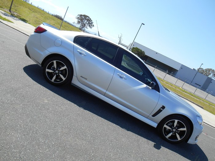 2016 Holden Commodore SV6 Black VF Series II MY16 Silver