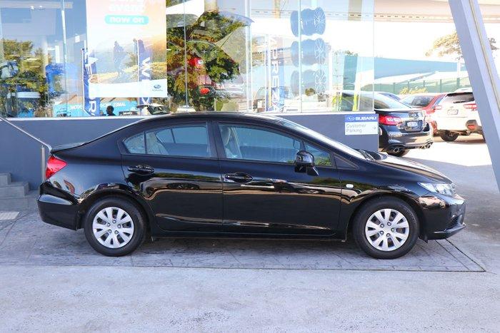2012 Honda Civic VTi 9th Gen Ser II Black