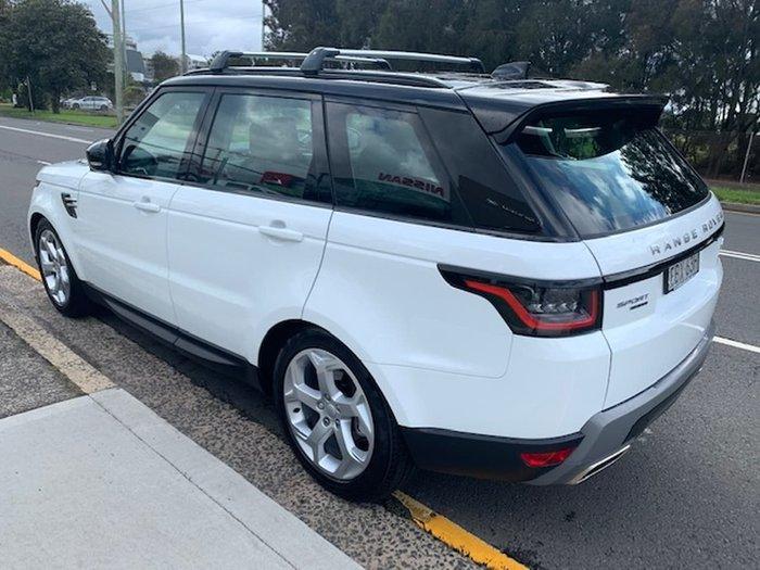 2019 Land Rover Range Rover Sport SDV6 225kW SE L494 MY19.5 4X4 Dual Range White