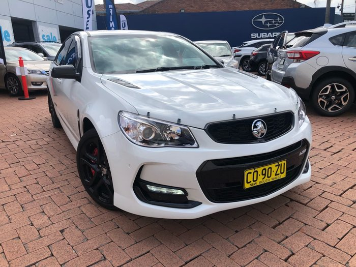 2016 Holden Commodore SS V Redline VF Series II MY16 White