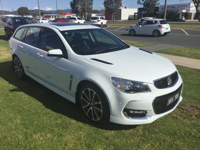2017 Holden Commodore SS VF Series II MY17 White