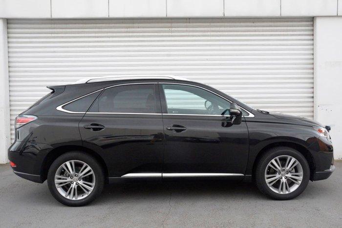 2015 Lexus RX RX350 Luxury GGL15R 4X4 On Demand Black