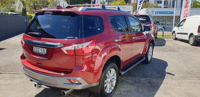 2019 Isuzu MU-X LS-T MY19 4X4 Dual Range Red