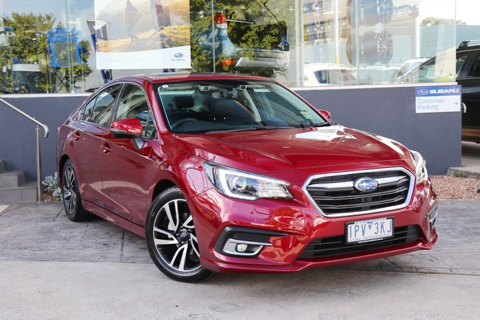 2018 Subaru Liberty 2.5i Premium 6GEN MY18 Four Wheel Drive Red