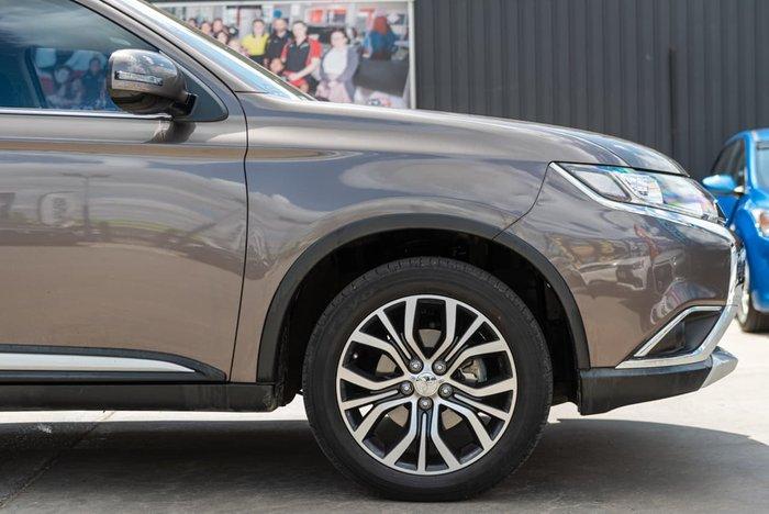 2016 Mitsubishi Outlander LS ZK MY16 Brown