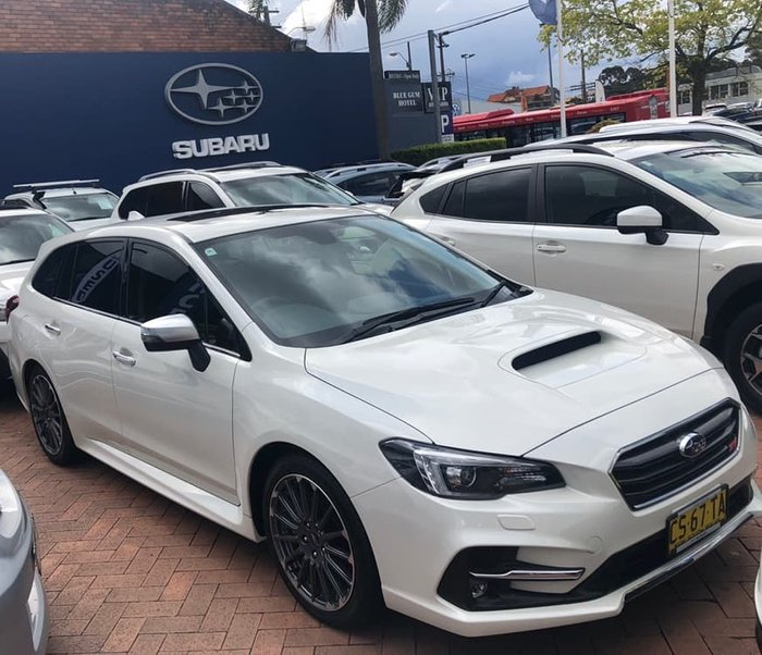 2018 Subaru Levorg 2.0 STI Sport V1 MY19 Four Wheel Drive White