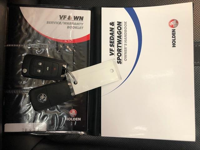 2016 Holden Commodore SS V VF Series II MY16 WHITE