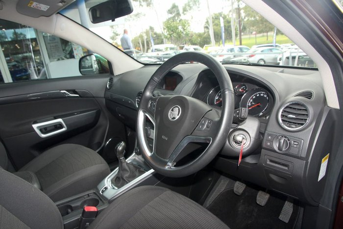 2014 Holden Captiva 5 LT CG MY14 Red