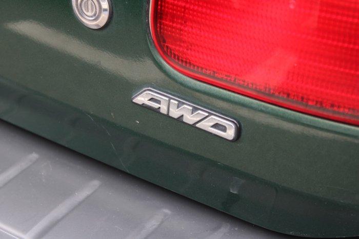 2001 Subaru Forester GX 79V MY01 Four Wheel Drive Green