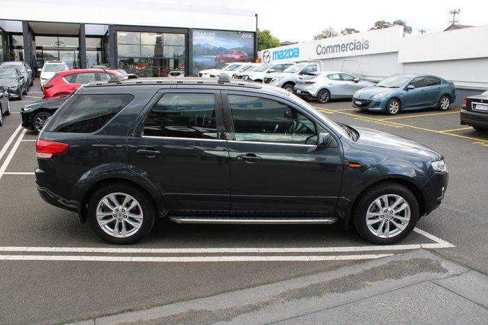 2011 Ford Territory TS SZ Grey